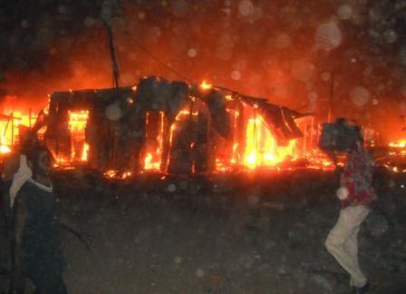 Fire destroys properties worth millions of SSP in Gudele