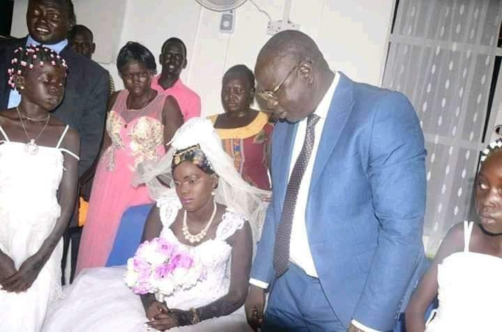 NGOs in S.Sudan are terminating contracts with Nyalong' husband who paid 500 cows for dowry