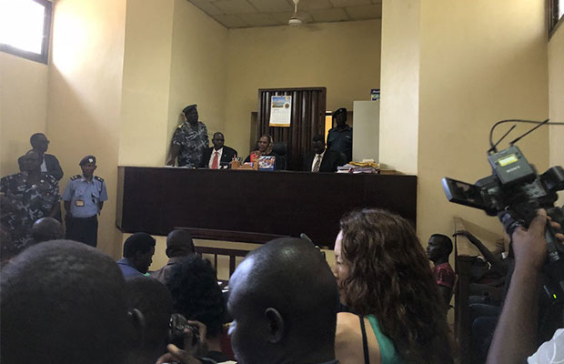Peter Biar & Kerbino Wol  arraign in court, faces terrorism charges among others