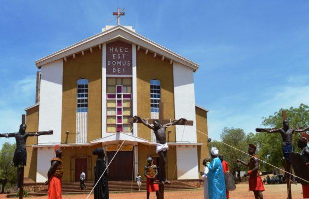 Easter in Juba