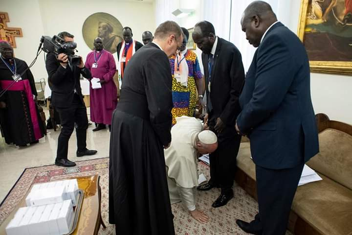 Seek that which unites, overcome that which divides, Pope tells South Sudan leaders