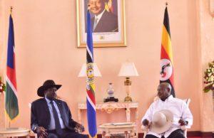President Kiir and Museveni