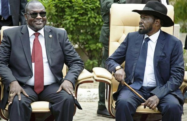Riek Machar and Machar