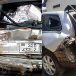First Lady survives grisly road accident [PHOTOS]