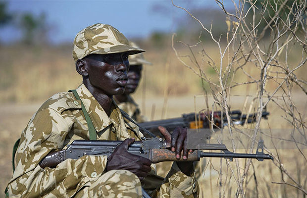 SPLA-Soldiers
