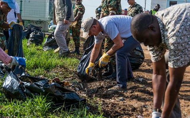 UNMISS cleans up Juba