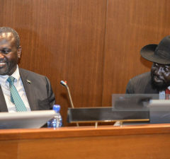 Riek-Machar-and-Kiir