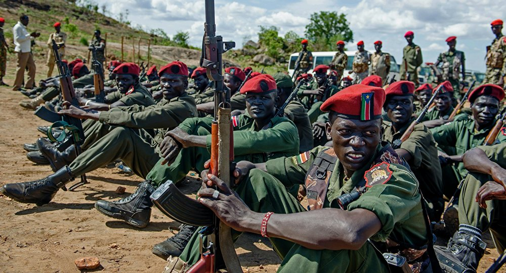 Sudan donates military kits to South Sudan forces