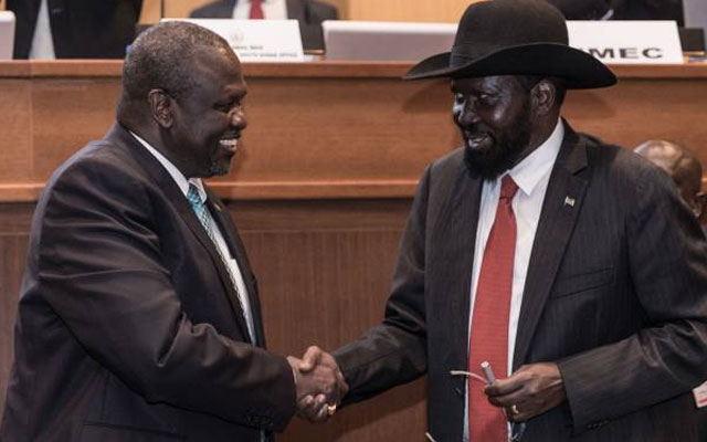 Machar agrees to formation of TGoNU on 12 Nov