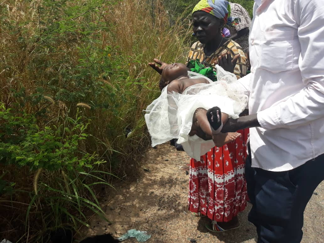 Only baby survives grisly road accident on Juba-Nimble Road