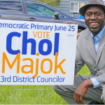 Former South Sudanese refugee wins New York State District Councilor Seat