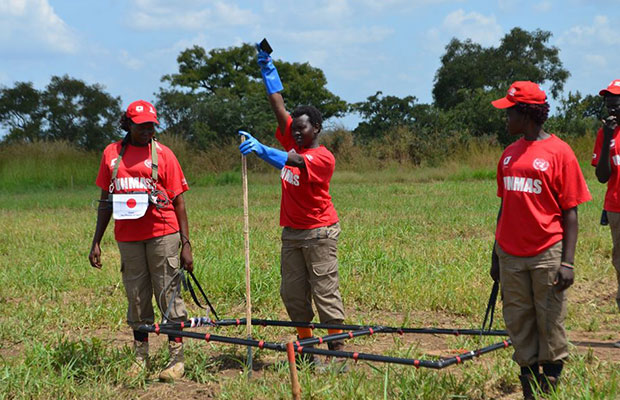 [PHOTOS] Meet brave South Sudanese women clearing South Sudan of its landmines