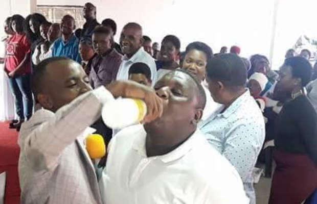28 People die after 'Pastor' gave them Jik to drink to cleanse their sins.