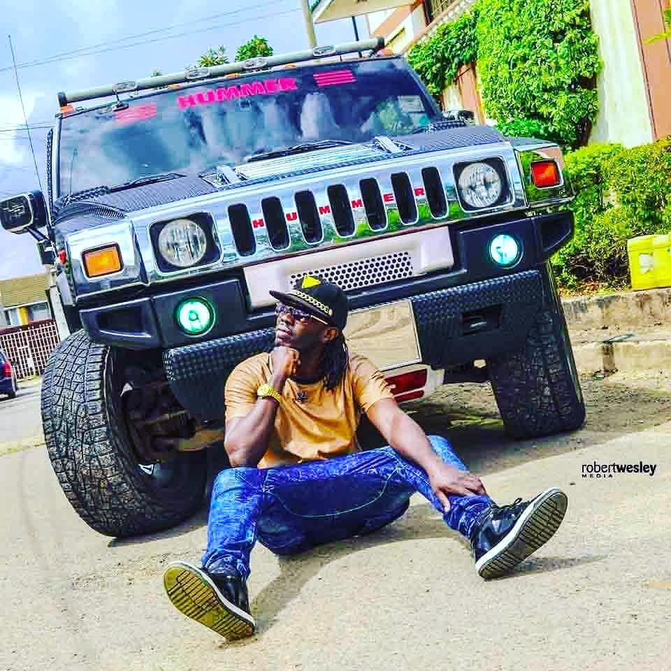 With his fleet of cars, Is Babyone the richest South Sudanese musician?