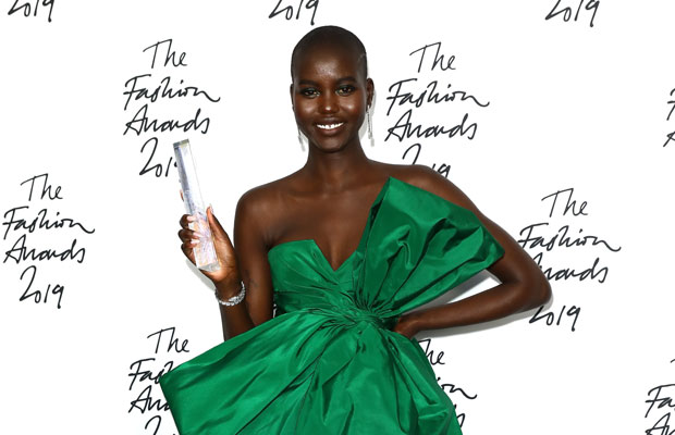 Adut Akech wins Model of the Year
