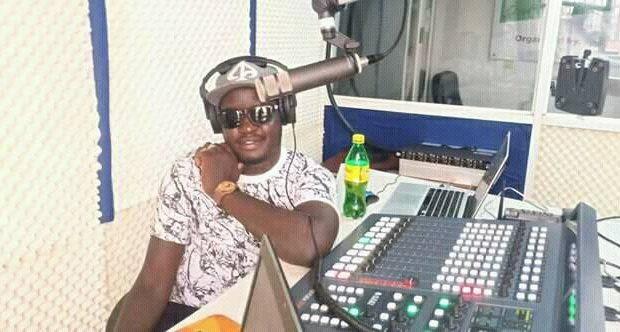 South Sudanese Radio presenter Crazy Boy Davido