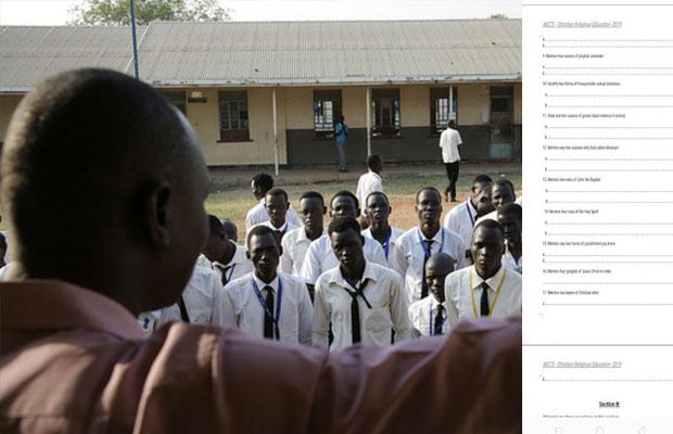 Exam-leaked-South-Sudan