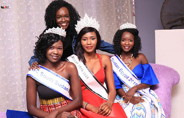 Organisers ridiculed for crowning 'yot yot' Miss South Sudan in Eygpt [PHOTOS]
