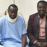 Gen. Salva Mathok hospitalized in Kenya
