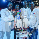 Meet South Sudanese teens working on robot that can clean River Nile of plastic waste [VIDEO]