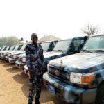 President Kiir gifts Police Service new wheels for night patrol in Juba