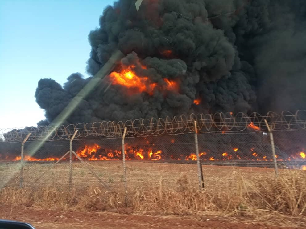 BREAKING: Oil spill sparks deadly fire in Ruweng State [PHOTOS]