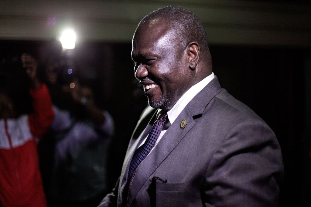 Machar reportedly told to stay in Juba until February