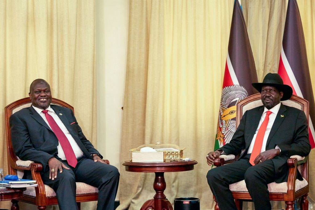 Kiir and Machar