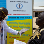 UN Staff who was in quarantine sneaks out of South Sudan to Sweden.