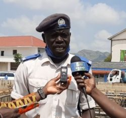 Meet George Kenyi, traffic police officer in Juba everyone is talking about