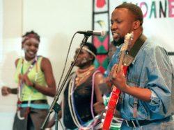 Emmanuel Kembe mourns his mother