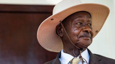 Uganda's president, Museveni