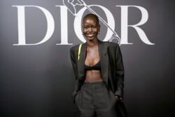 Adut Akech reportedly got engaged to Nigerian Runtown [PHOTOS]