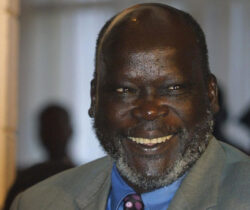 Here is the last voice message John Garang left 24hrs before he died [AUDIO]
