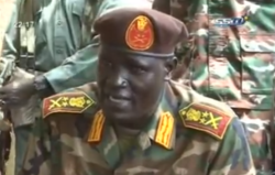 Johnson Olony has threatened to kill anyone appointed Upper Nile Governor, government official says