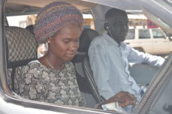 Meet Juba's public transport lady driver