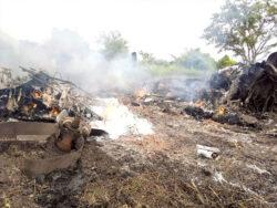 Cargo plane crash in Juba. leaves four dead [PHOTOS]