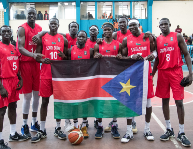 South Sudan Men Basketball team advances to AfroBasket 2021 qualifiers