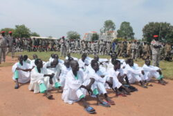 Army sentences 24 soldiers to prison for various crimes committed in Yei River