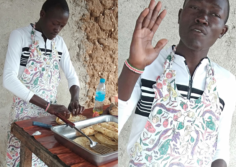 Meet Kemis, a degree holder who finds joy in making chapatis