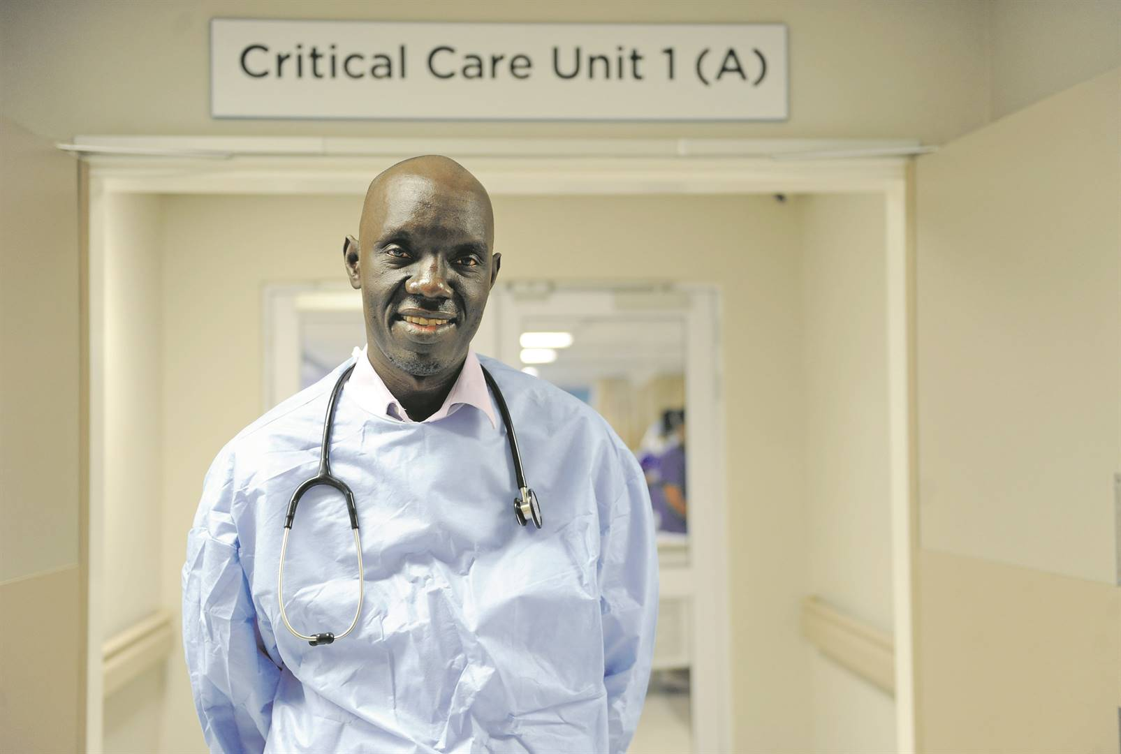 From being a young South Sudanese refugee to becoming South Africa's leading doctor