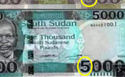 Trending 5,000 SSP banknote is fake - Bank Governor [VIDEO]