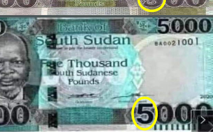 Trending 5,000 SSP banknote is fake – Bank Governor [VIDEO]