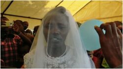 Mother of six dumps husband, marries holy spirit