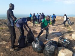 Juba hiking group celebrates World Environment Day by cleaning, planting trees at Jebel Kujur [PHOTOS]
