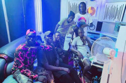 Check B, Navy Boy, Johnson Mike, Ade destroy Silver X, DJ Cent in new diss song