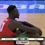 AfroBasket 2021: South Sudan beat Kenya to progress to the Quarterfinals
